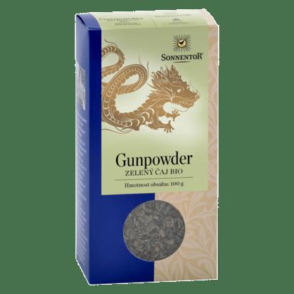 Sonnentor Gunpowder - zelený čaj sypaný bio 100 g