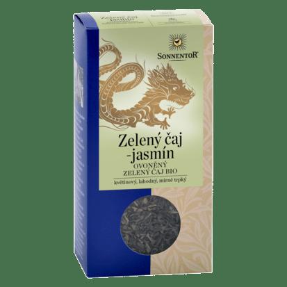 Sonnentor Zelený čaj - jasmín sypaný bio 100 g