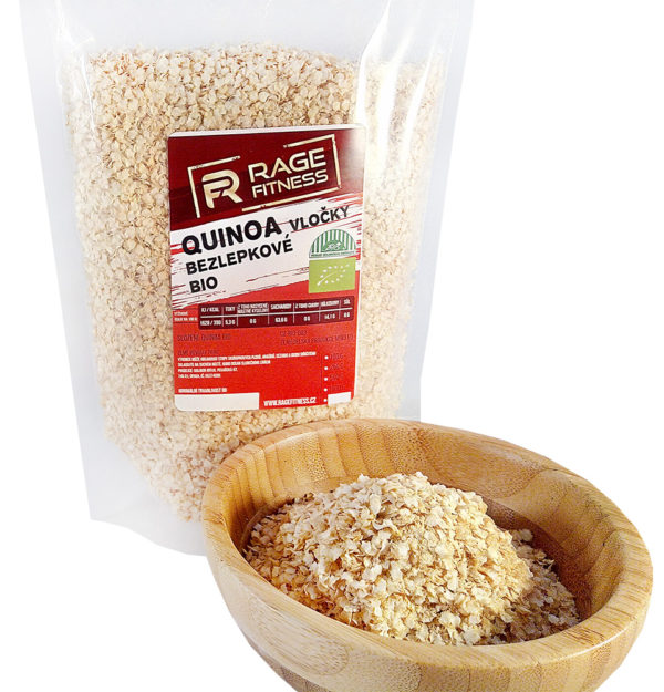 RageFitness Quinoa vločky BIO - 1000g