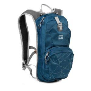 ef837077b Spokey STELVIO Cyklistický a běžecký batoh 12l, modrý