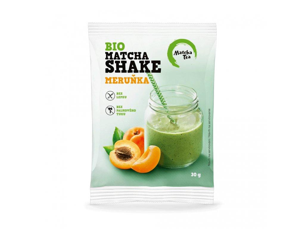 Matcha tea Bio matcha shake meruňka 30g
