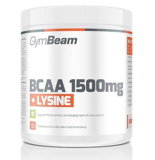 GymBeam BCAA 1500 + Lysin 300 tablet