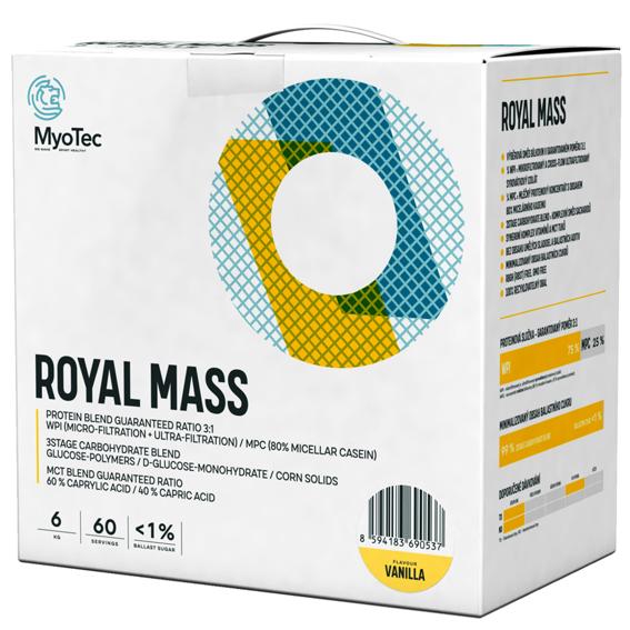 MyoTec Royal Mass 6kg vanilka