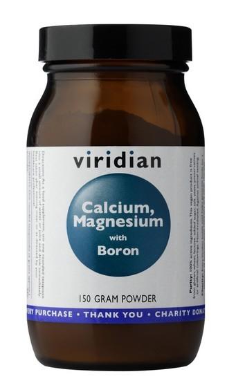 Viridian Calcium Magnesium with Boron Powder 150g (Vápník, hořčík a bór)