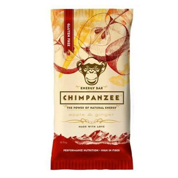 Chimpanzee Energy Bar 55g apple and ginger
