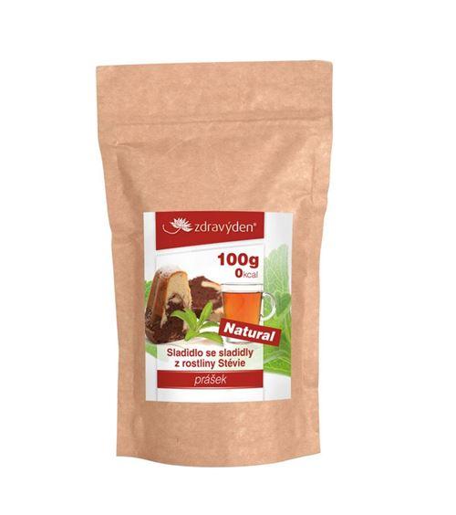 Zdravý den Stevia prášek 100 g