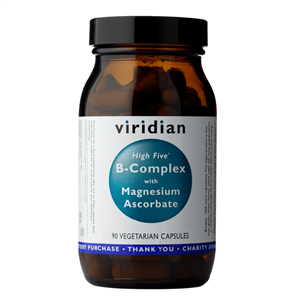Viridian High Five B Complex with Magnesium Ascorbate 90 kapslí