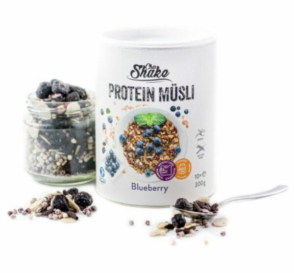 ChiaShake Proteinové müsli borůvka 10 jídle (300g)