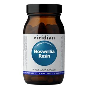 Viridian Boswellia Resin 90 kapslí (Pryskyřice kadidlovníku)