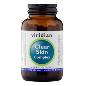 Viridian Clear Skin Complex 60 kapslí (Přírodní péče o pleť)