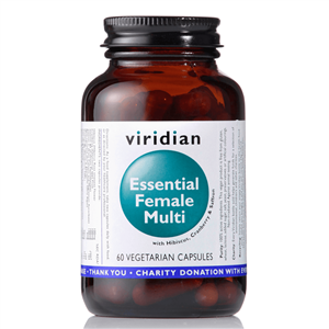 Viridian Essential Female Multi 60 kapslí (Natural komplex pro ženy)