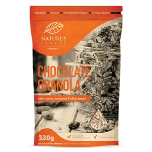 Nutrisslim Chocolate Granola Bio 320g (Pražené čokoládové müsli)