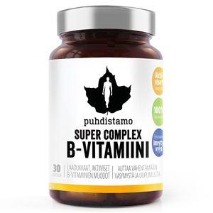 Puhdistamo Super Vitamin B Complex 30 kapslí