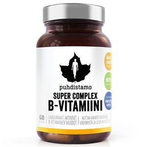 Puhdistamo Super Vitamin B Complex 60 kapslí