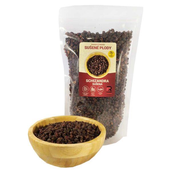 RageFitness Schizandra čínská Klanopraška sušená - plod - 100g