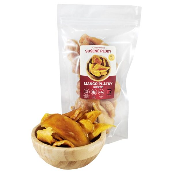 RageFitness Mango plátky sušené - 1000g