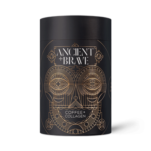 ANCIENT and BRAVE Coffee + Grass Fed Collagen 250g