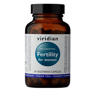 Viridian Fertility for Women 60 kapslí (Ženská plodnost)