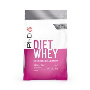 PhD Nutrition Diet Whey 1kg birthday cake