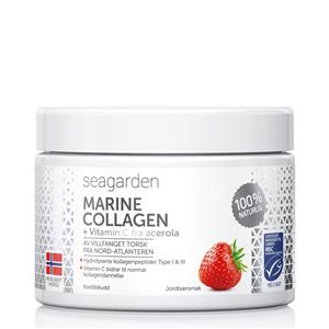 Seagarden Marine Collagen + Vitamin C 150g jahoda