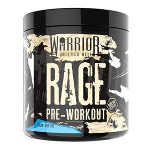 WARRIOR RAGE Pre-Workout 392g blazin blue raspberry