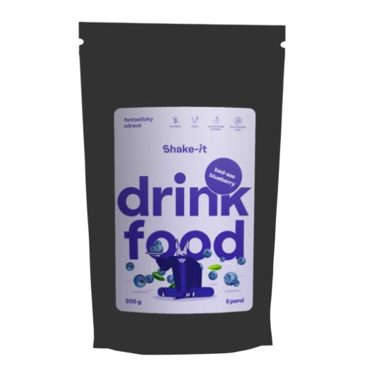 Fronies s.r.o. Shake-it Bad-ass Blueberry 200g